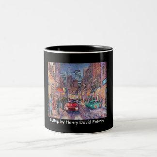 BeBop Two-Tone Coffee Mug