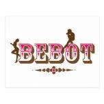 Bebot + Babae + Orgullo de Pinoy de las mujeres Postal