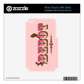 Bebot Filipina iPod Touch 4G Decals