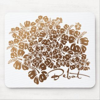 Bebot - Hibiscus Mouse Pad