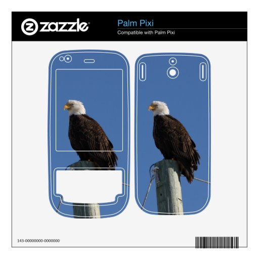 BEBS Bald Eagle Blue Sky Decals For The Palm Pixi