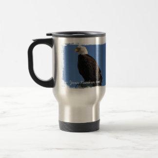 BEBS Bald Eagle Blue Sky 15 Oz Stainless Steel Travel Mug