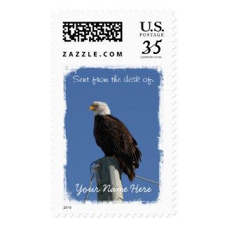 BEBS Bald Eagle Blue Sky Postage