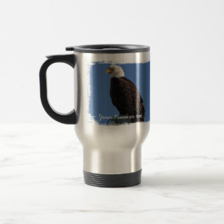 BEBS Bald Eagle Blue Sky Travel Mug