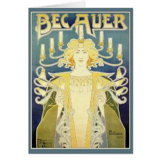 Bec Auer (Blue) Card