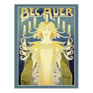 Bec Auer (Blue) Postcard