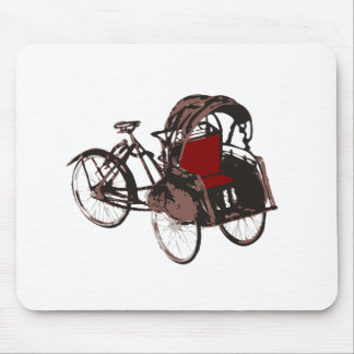 Becak Mouse Pad