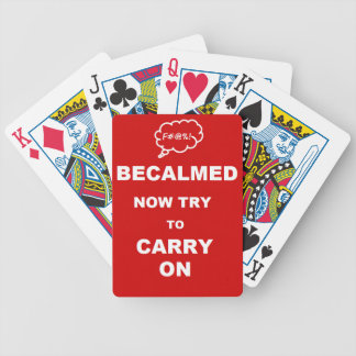 Becalmed. Bicycle Playing Cards