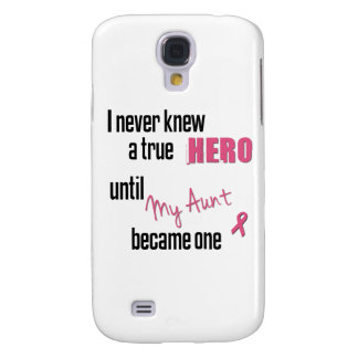 Became a Hero - Aunt Galaxy S4 Cases