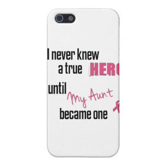 Became a Hero - Aunt iPhone 5 Cover