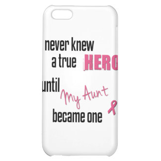 Became a Hero - Aunt iPhone 5C Cover