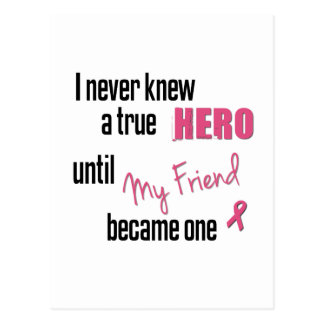 Became a Hero - Friend Post Cards