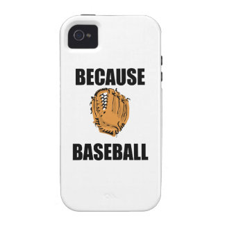 Because Baseball Case For The iPhone 4