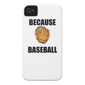 Because Baseball iPhone 4 Cases