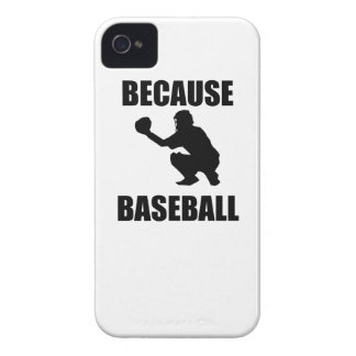 Because Baseball iPhone 4 Cover