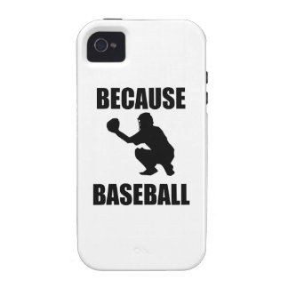 Because Baseball iPhone 4/4S Cover