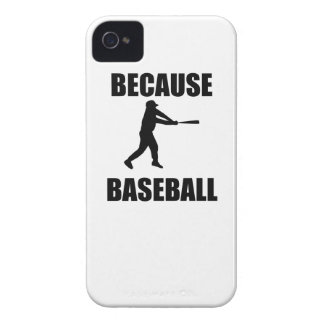 Because Baseball Case-Mate iPhone 4 Cases