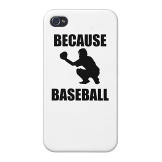 Because Baseball iPhone 4/4S Covers