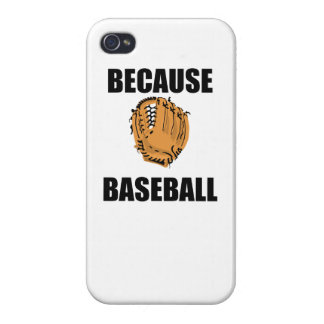Because Baseball Covers For iPhone 4