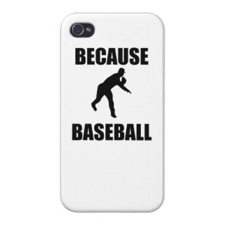 Because Baseball iPhone 4/4S Case