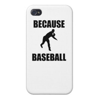 Because Baseball iPhone 4 Covers
