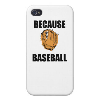 Because Baseball Cases For iPhone 4