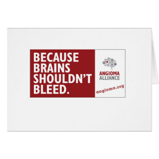 Because Brains Shouldn't Bleed Card