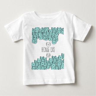 Because cats - cat gang baby T-Shirt