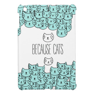 Because cats - cat gang cover for the iPad mini