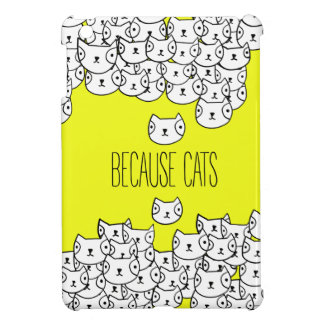 Because cats - cat gang case for the iPad mini