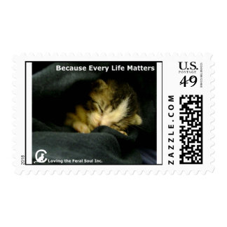 Because Every Life Matters Postage Stamps