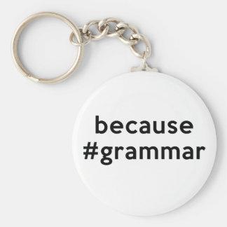 Because Grammar Key Chains