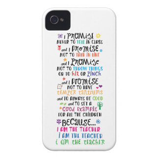 Because I Am The Teacher iPhone 4 Cover