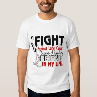 Because I Need My Friend Lung Cancer T Shirt