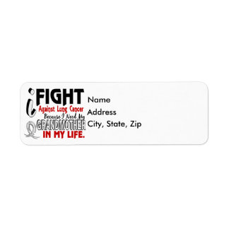 Because I Need My Grandmother Lung Cancer Label