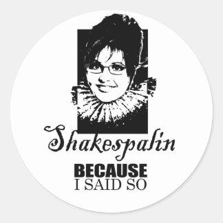 Because I said so Stickers