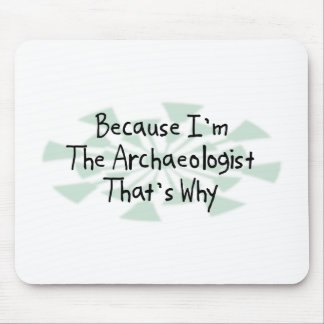 Because I'm the Archaeologist Mouse Pad