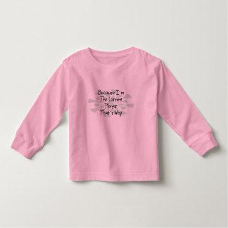 Because I'm the Cornet Player Tee Shirt