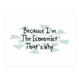 Because I'm the Economist Postcard