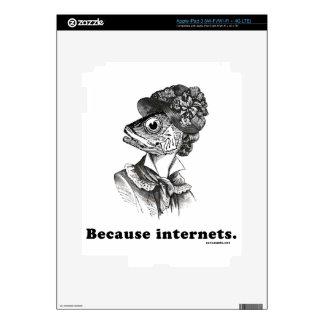 Because Internets iPad 3 Decal
