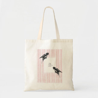 because it can't be said enough budget tote bag