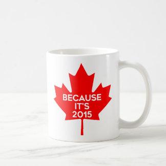 Because it's 2015 coffee mug