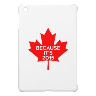 Because it's 2015 iPad mini covers