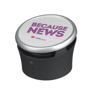 Because News Bluetooth Speaker