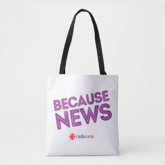 Because News Tote Bag