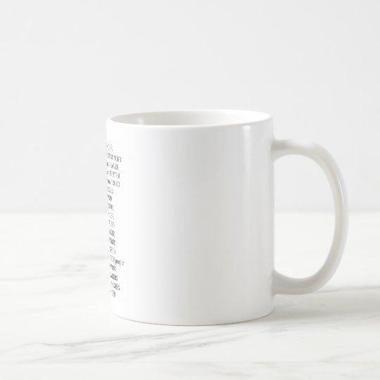 Because of Cancer Coffee Mug