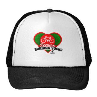 Because Running Sucks - Bicycle in my heart Trucker Hat