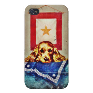 Because Somebody Talked a Sad Pup WWII iPhone 4/4S Case