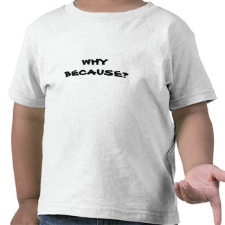 Because Tee Shirts