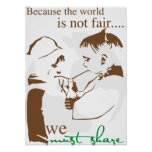 Because the World is Not Fair... Poster